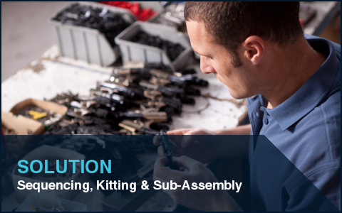 Sequencing, Kitting and Sub-Assembly