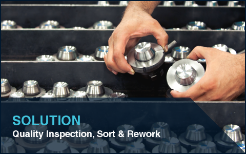 Quality Inspection, Sort and Rework